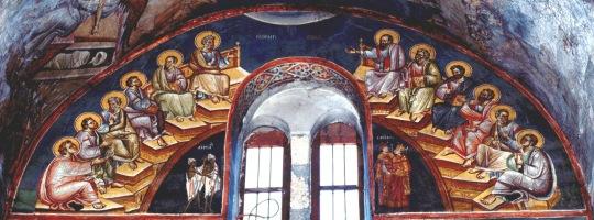 Helluntai. Perivleptos-kirkko, Ohrid, Makedonia 1295 © Foto Johannes Karhusaari 2010