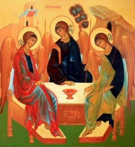 Pyhän Kolminaisuuden ikoni