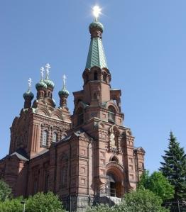 Pyhän Aleksanteri Nevskin ja pyhän Nikolaoksen kirkko. (Photo: Aristarkos Sirviö )