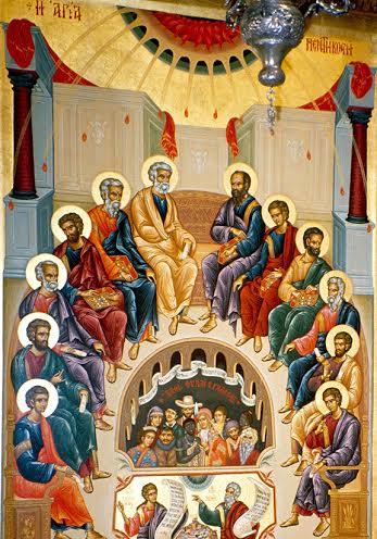Paraklitoksen luostarin katholikon, Oropo, Kreikka. 1990-luku.  © Foto Johannes Karhusaari 2010