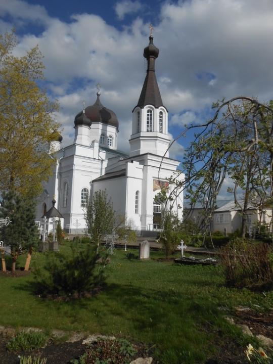 Vasknarvan Profeetta Elian muistolle vihitty kirkko. (Photo: Aristarkos Sirviö)