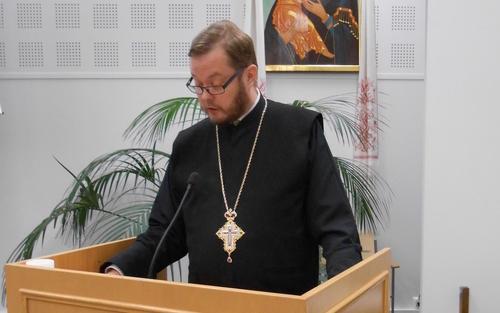 Arkkimandriitta Andreas Larikka. (Kuva/Photo: Aristarkos Sirviö )