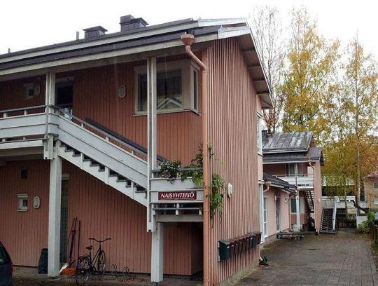 Juliana -yhteisön rakennuksia (Kuva/Phoyo: Hannu Pyykkönen/Ortdoksi.net )