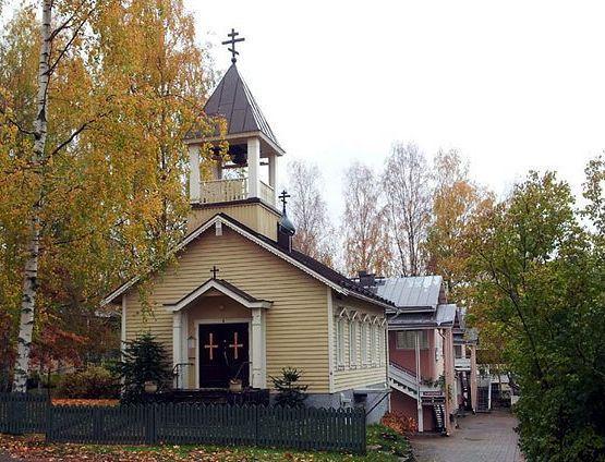 Kristuksen taivaaseenastumisen kirkko. (Kuva/Photo Hannu Pyykkönen/Ortodoksi.net )