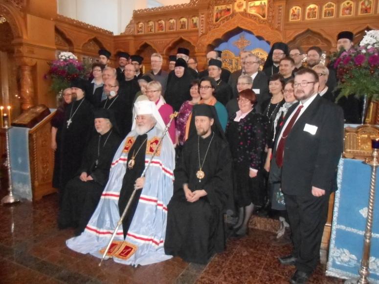 Kirkolliskokouksen jäsenet. (Kuva/Photo: Aristarkos Sirviö )