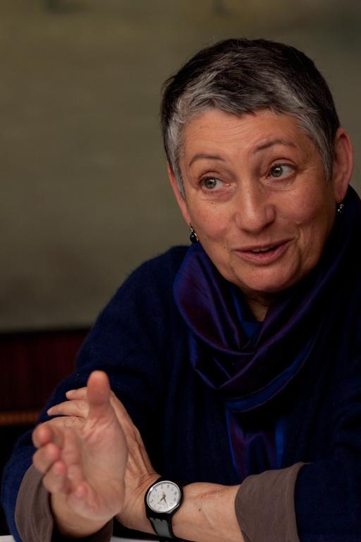 Kirjailija  Ljudmila Ulitskaja.  (Kuva/Photo: Andras Kovacs )