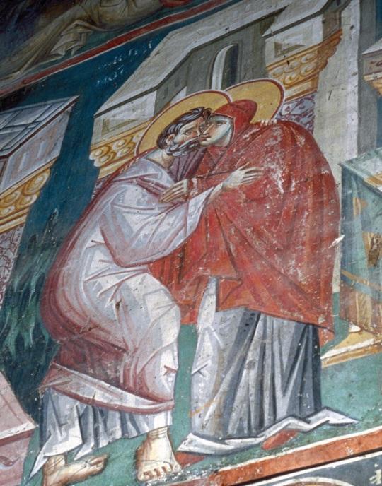 Perivleptos-kirkko, Ohrid, Makedonia. 1295. ( Kuva/Photo: ©Johannes Karhusaari )