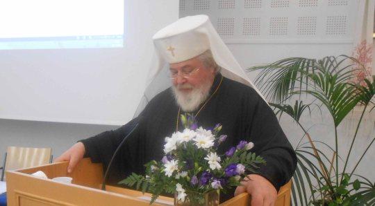 Arkkipiispa Leo (Kuva/Photo: Aristarkos Sirviö )