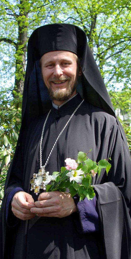 Joensuun piispa Arseni. (Kuva/Photo: Aristarkos Sirviö )
