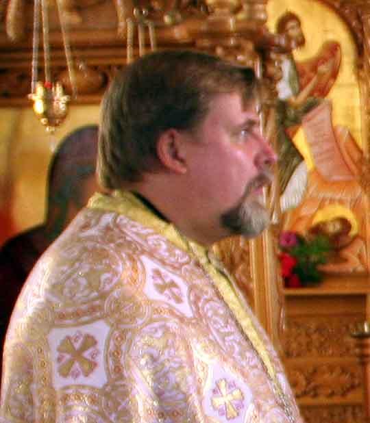 Kirkkoherra Matti Wallgrèn. (Kuva/Photo: Ortodoksi.net)