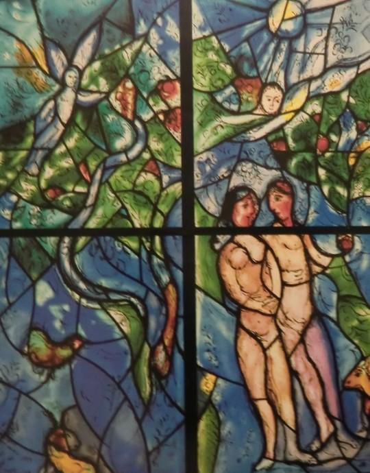Marc Chagallin lasimaalaus