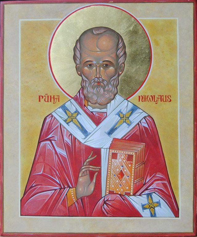 Pyhä Nikolaos. Virolainen ikoni. (Kuva/Photo: Aristarkos Sirviö )