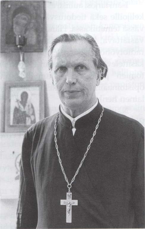 Kuva teoksesta Ortodoksisuutta eilen ja tänään. Mitro Revon kokoelmista.