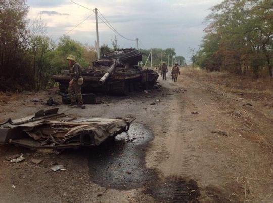 Ilovaiskin taistelun jälkeen. (Kuva/Photo: newzz.in.ua )