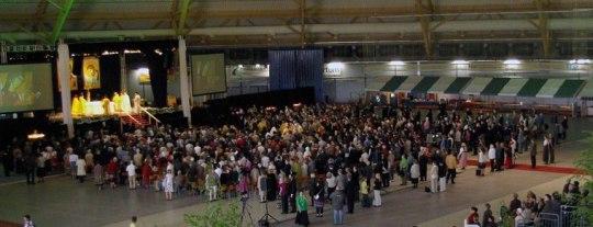 Liturgia kirkkopäivillä Joensuussa 2010. (Kuva/Photo: Aristarkos Sirviö)