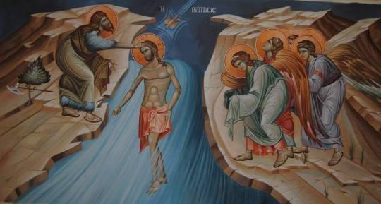 Kristuksen kaste. (Ikonikuva/Photo: ortodox.net)