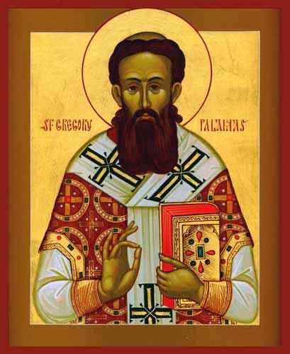 Pyhä Grigorios Palamas. (Ikonikuva: orthodox.net )