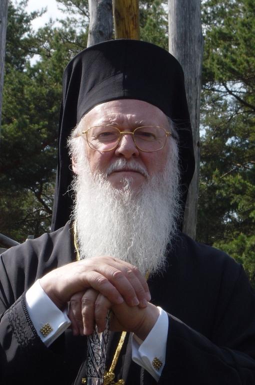 Hänen Pyhyytensä Konstantinopolin, Uuden Rooman, arkkipiispa ja Ekumeeninen patriarkka Bartolomeos  I . (Kuva/Photo: Aristarkos Sirviö)