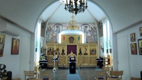 1741 Pyhän Kolminaisuuden kirkko suuren paaston aikaan.  (Kuva/Photo: Hellevi Matihalti)