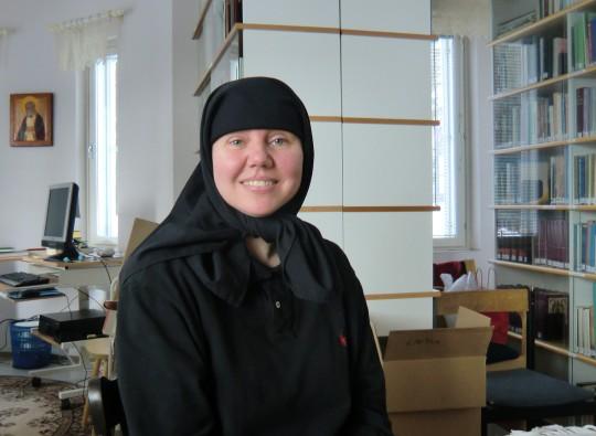 Sisar Juliana aloitti luostarikilvoittelunsa Kreetalla Hanian kaupungissa sijaitsevassa Krysopigin luostarissa. (Kuva/Photo: Hellevi Matihalti )