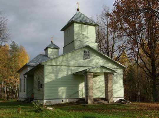 Kristuksen kirkastumisen kirkko on rakennettu vuonna 1952. Se on Virossa toinen neuvostomiehityksen aikana valmistuneista ortodoksisista kirkoista. (Kuva/photo: EAÕK)