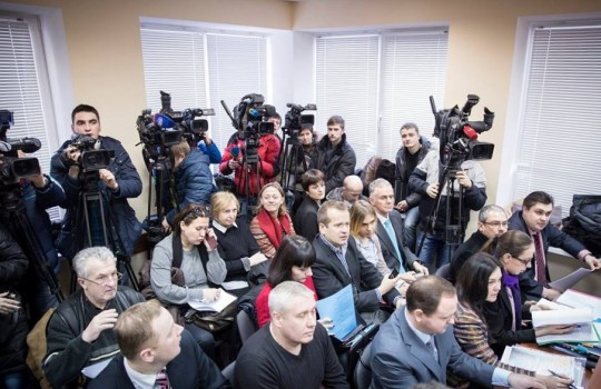 Antero Eerola oli Kiovassa seuraamassa oikeudenkäyntiä kommunistisen puolueen kieltämiseksi. (kuva/Photo: Joel Karppanen)