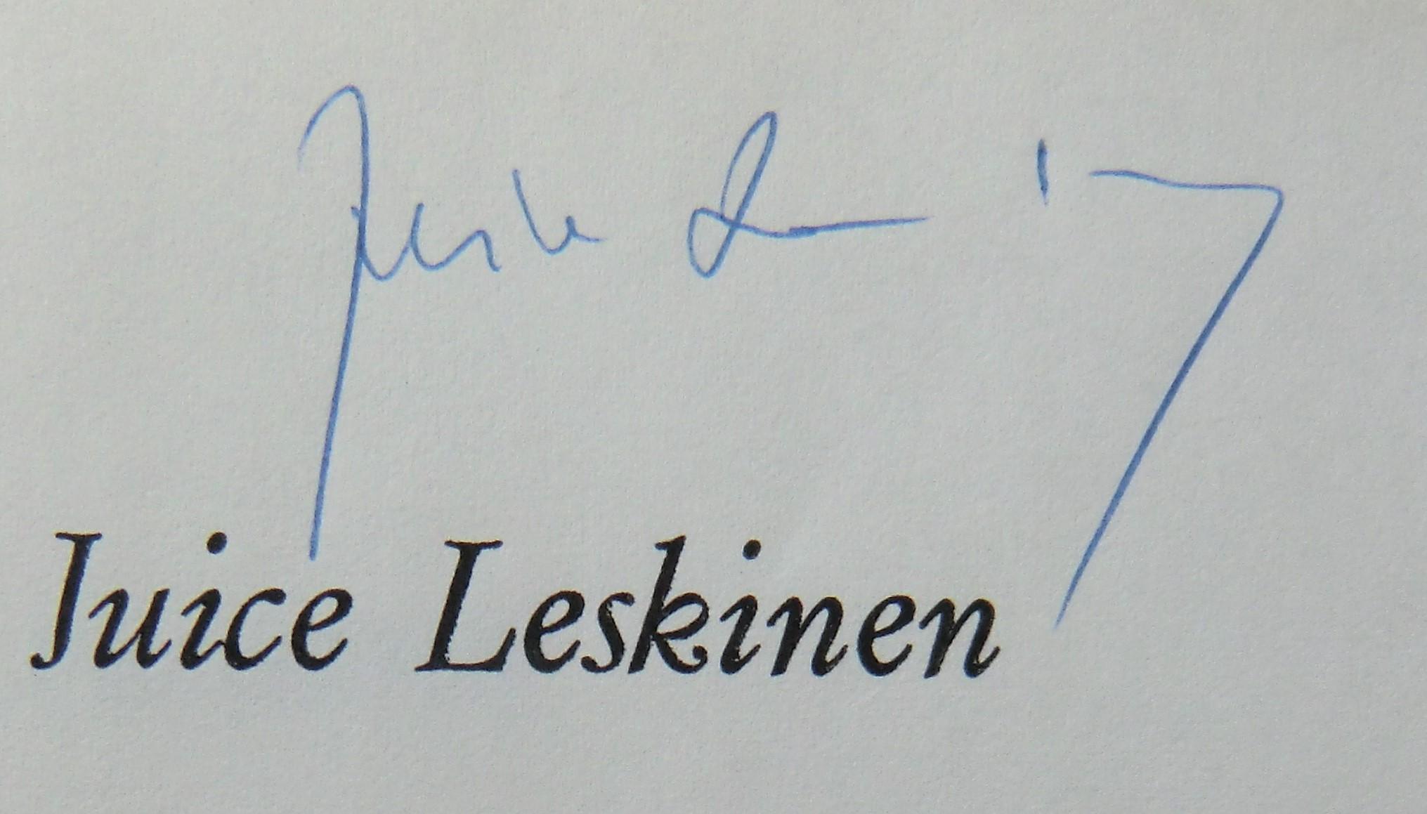 Mystinen Juice Leskisen lyriikassa  86340c2e19