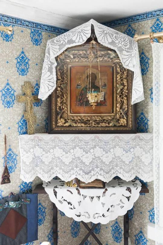 Vanhasukoisuuden historia on koottu ainutlaatuisella tavalla Kolkjan kylässä olevaan vanhauskoisten museoon. (Kuva/Photo: vanhauskoisten museo)