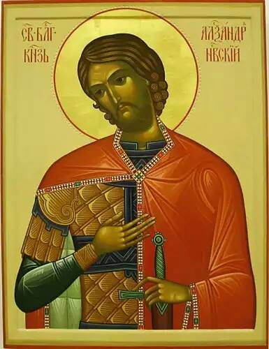 Pyhä Alekssanteri Nevalainen (Nevski). (Ikonikuva: Orthodox.net)