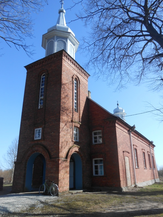 Varnjan  vanhauskoisten rukoushuoneen/kirkko . (Kuva/Photo: Aristarkos Sirviö)