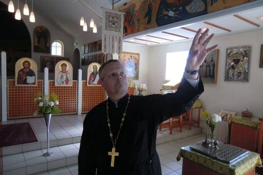 Isä Marko Patronen (Kuva/Photo: Hellevi Matihalti )