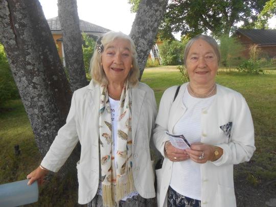 Sisarukset Anna ja Olga ovat syntyperäisiä lappeenrantalaisia. (Kuva/Photo: Aristarkos Sirviö)