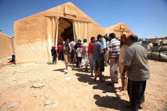 Pakolaisten määrä kasvaa päivittäin Syyrian naapurimaissa. (Kuva/Photo: un.org )