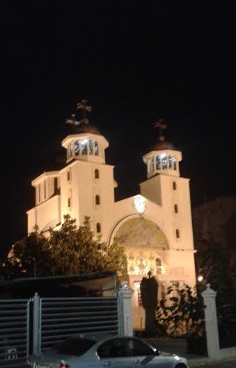 Pyhän Elian kirkko Titanin alueella.( Kuva/Photo: Andra Aldea-Löppönen)