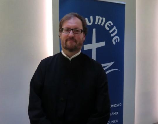 Ylidiakoni Juha Lampinen (Kuva/Photo: Hellevi Matihalti)