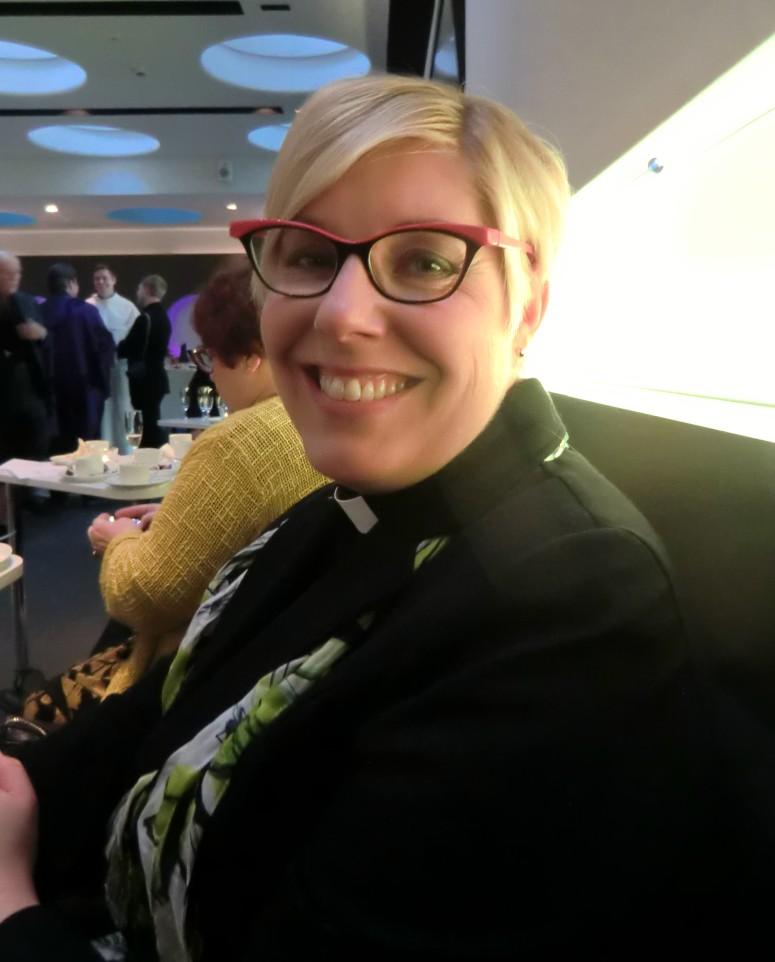 Pastori Soile Salorinne (Kuva/Photo: Hellevi Matihalti)