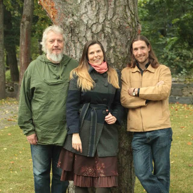 Trio MaRiE. Esa Santonen, Maija Loukola ja Rikhard Dahlström. ( Kuva/photo: Maija Loukolan kuva-arkisto)