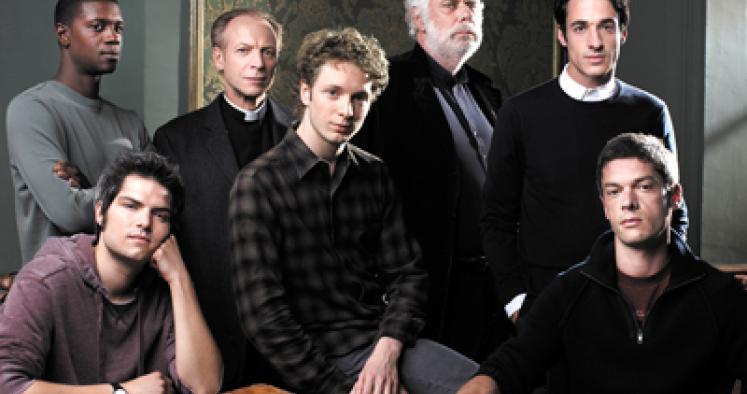 Sarjan ensimmäisen tuotantokauden keskeiseiset henkilöt. (Kuva/Photo: Arte.tv