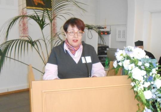 Hallintovaliokunnan puheenjohtaja Ritva Bly. (Kuva/Photo: Aristarkos Sirviö)