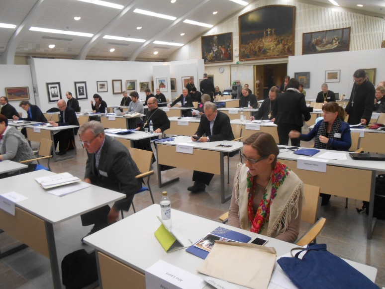 Kirkolliskokouksen täysistunto. (Kuva/Photo: Aristarkos Sirviö)