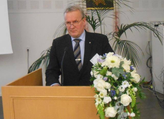 Talousvaliokunnan jäsen Hannu Hoskonen. (Kuva/Photo: Aristarkos Sirviö)