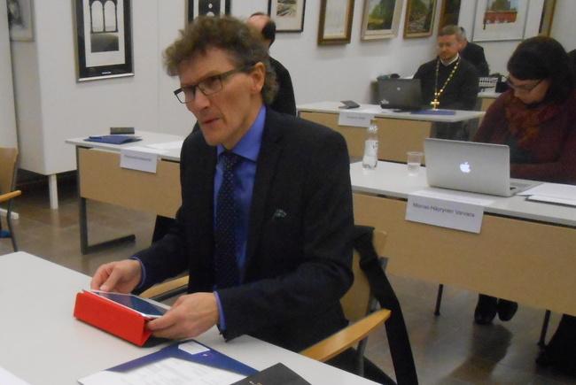 Talousvaliokunnan jäsen Mikko Junes. (Kuva/Photo: Aristarkos Sirviö)