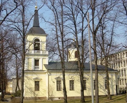 Pyhän Kolminaisuuden kirkko Helsingin Kruununhaassa. (Kuva/Photo: Aristarkos Sirviö)