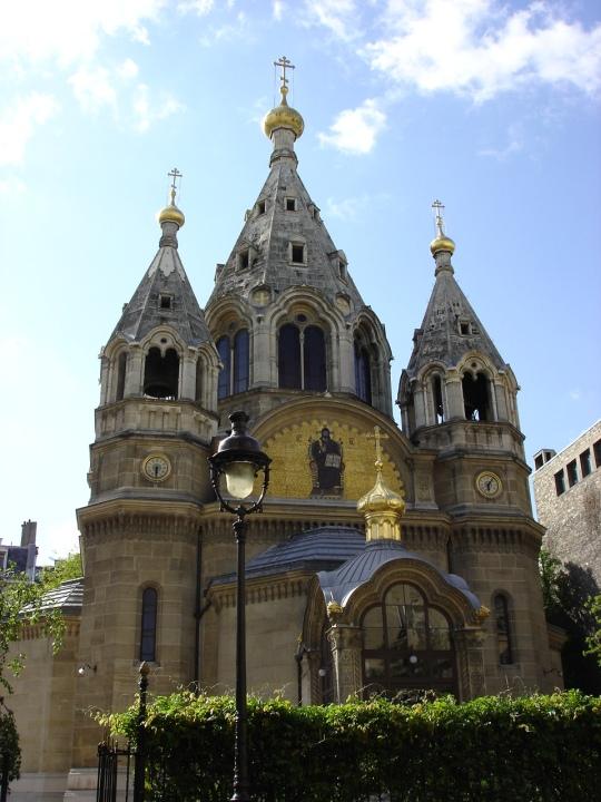 Aleksander Nevskin katedraali Pariisissa. (Kuva/Photo: Hellevi Matihalti)