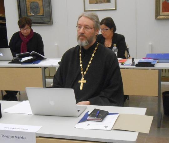 Isä Markku Toivanen (Kuva/Photo: Aristarkos Sirviö)