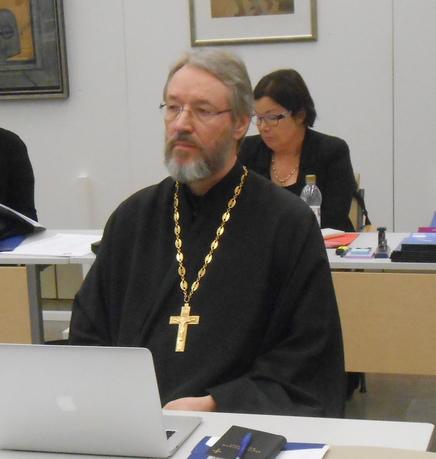 Rovasti Markku Toivanen kirkolliskokouksessa 2015. (Kuva/Photo: Aristarkos Sirviö)