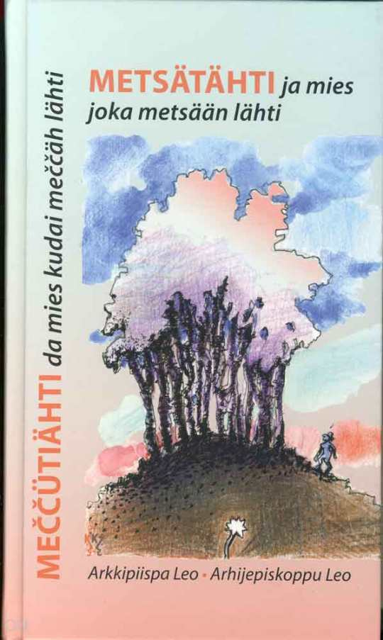 Kuten Arkkipiispa Leon aikaisemmatkin runokirjat myös uusi kokoelma on kaksikielinen: runot ovat niin suomen kuin karjalankin kielisinä.