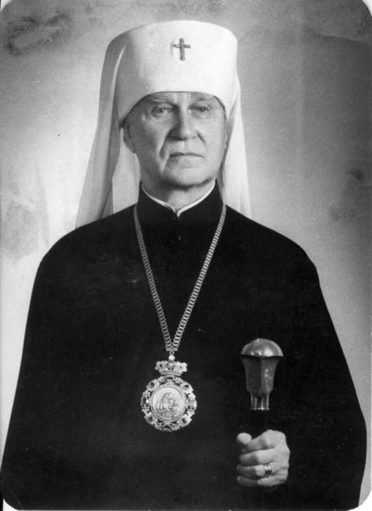 Karjalan ja koko Suomen arkkipiispa Herman. Herman oli syntynyt Virossa Muhun saarella. (Kuva/Photo: VYS:n kuva-arkisto)