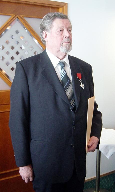 Isä Mikael (Mikko) Kriisin. (Kuva/photo: Aristarkos Sirviö)