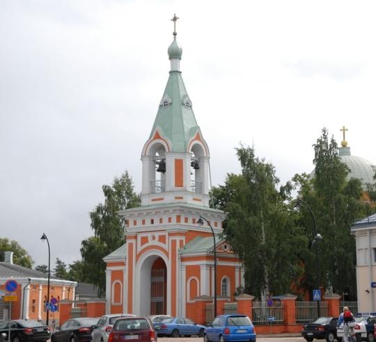 Haminan Pyhien apostolien Pietarin ja Paavalin kirkko. (Kuva/photo: Aristarkos Sirviö)
